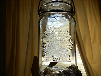 OPLER Brothers Cocoa And Chocolate - New York - Qt. Jar w / Lid