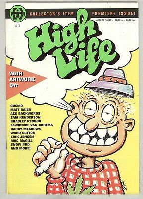 High Life #1 March 1995 VG/FN  Scarce