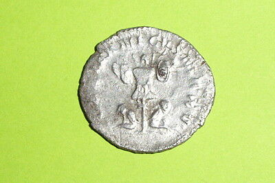 RARE Ancient ROMAN SILVER COIN trophy GALLIENUS 253-268 AD german captive old vg