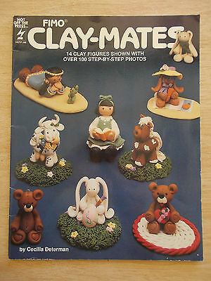 Fimo Clay-Mates~Cecilia Determan~HOTP #168~14 Clay Figures~100 Photos~Projects