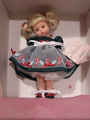 MADAME ALEXANDER 2003 CHRISTMAS CANDY DOLL  NEW in BOX with COA