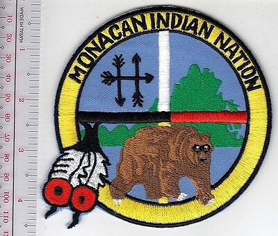 Tribal Seal Virginia Monacan Indian Tribe Historical Recording since 1607 Satell