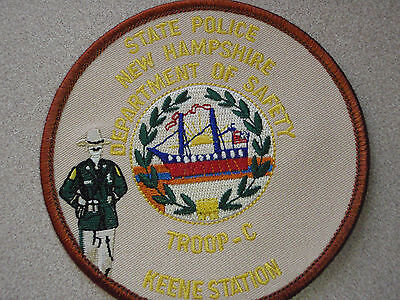 New Hampshire State Police Troop C Keene Station