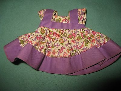 "Vintage Tagged 8"" Vogue Ginny Doll Floral Dress"