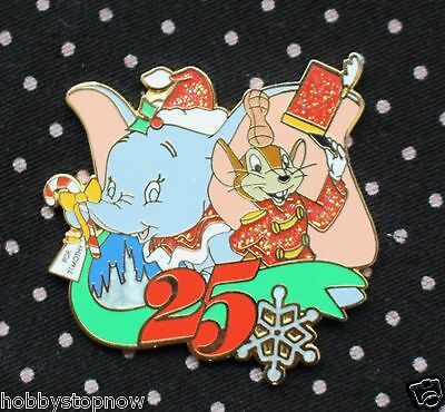 Disney Pin WDW Mickey's Very Merry Christmas Party 2008 Timothy Dumbo LE BD1