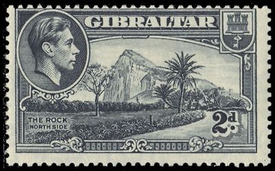 """GIBRALTAR 110c (SG124a) - Rock from Northside """"1940 Printing"""" (pa79317)"""