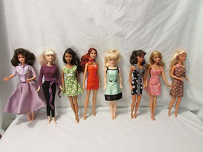 Lot of 8 Barbies Special Edition~Fashion~? Muse all with Outfits no Shoes