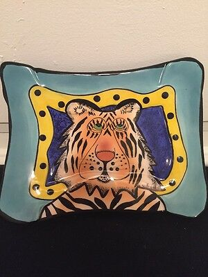 Lynda Corneille SWAK Tiger Footed Dish Sushi Plate