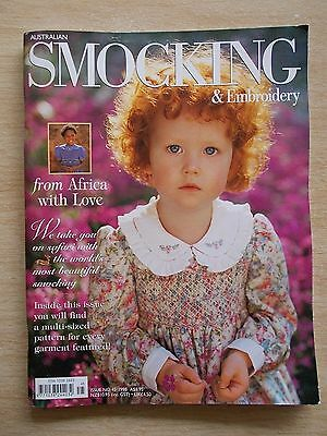 Australian Smocking & Embroidery #45~Africa~Dresses~Nightie~Boy's Christening...
