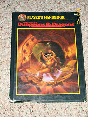 """Dungeons & Dragons """"player's Handbook"""" Hardcover #2159, Came Out In 1996"""