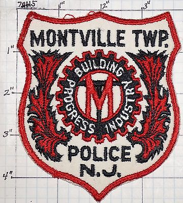 New Jersey, Montville Township Police Dept Patch