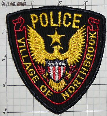 Illinois, Village Of Northbrook Police Dept Patch
