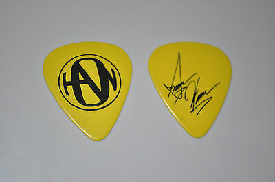 Isaac Hanson YELLOW Use Your Sole guitar pick!