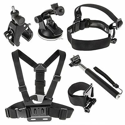 Yousave Accessories Ultimate 6 Piece GoPro Action Camera Accessory Bundle For HD