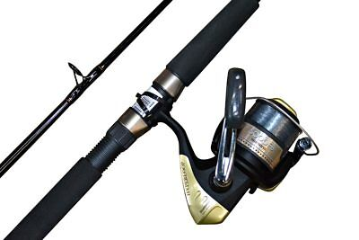 Shimano Eclipse (2 piece) 10 foot Rod and Reel combo with Hyperloop 6000 Reel