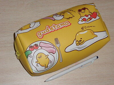 Gudetama Egg Cosmetic bag Pencil case Multipurpose pouch