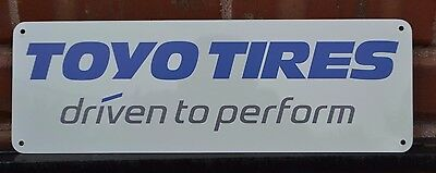Toyo Tire Sign Proxes Open Country Driven To Perform Advertising Logo Tire Shop