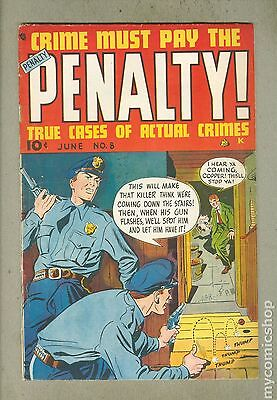 Crime Must Pay The Penalty (1948) #8 VG- 3.5