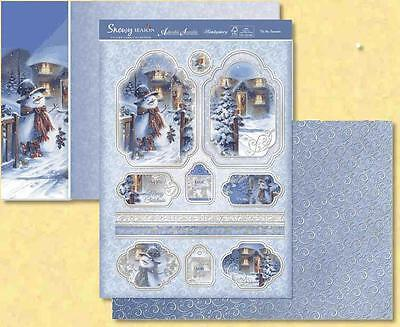 Hunkydory -  Snowy Season - Tis the Season Topper Set Die Cut