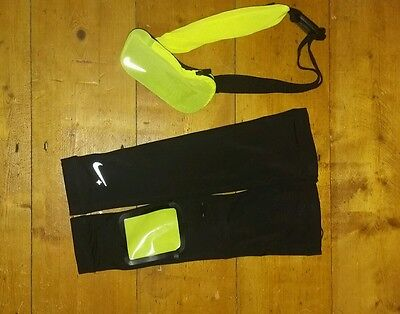 Nike + Compression Running Sleeve And Running Belt
