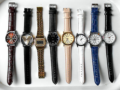 Watches - Job Lot of 8 - Brand New Watches with Batteries