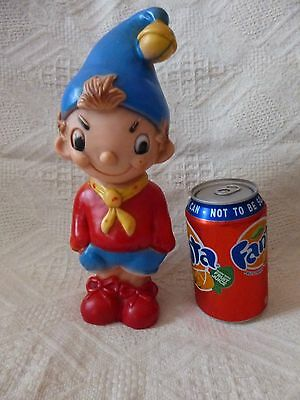vintage noddy vinyl squeaky figure approx 10 inches tall