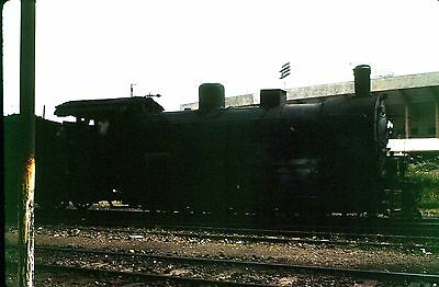 35Mm Colour Slide Foreign Railway Steam Locomotive Unknown Location  May 1973 Db