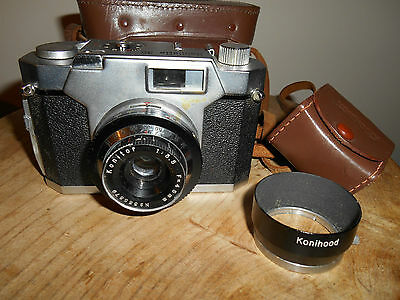 RARE KONILETTE 35 with fixed KONITOR 1:3.5/45mm Lens