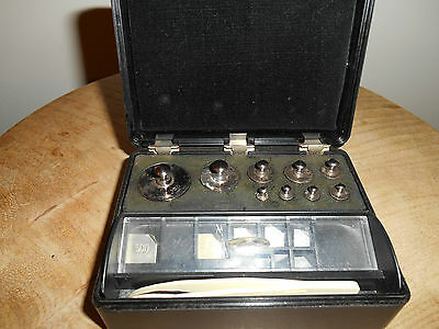 Vintage Jewellers Weights by GRIFFIN & GEORGE of LONDON