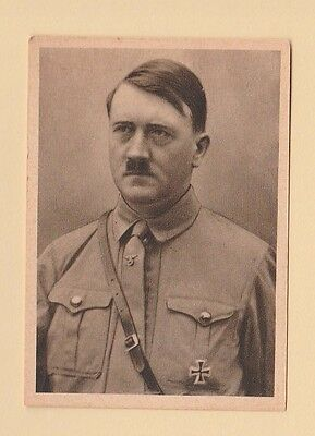 PEOPLE - HAUS BERGMANN - DEUTSCHER RUHM CARD -  ADOLF  HITLER  - 1930's