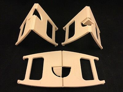 3 Piece Lot-Leeds Display Stand Co Ltd-Leeds 11-Made In England-No Reserve Lot