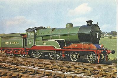 """Great Central Railway 4-4-0 No. 506 """"Butler Henderson"""" Postcard by Dixon T2907"""