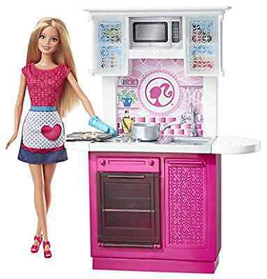 Barbie - cfb62 - Doll's House Kitchen