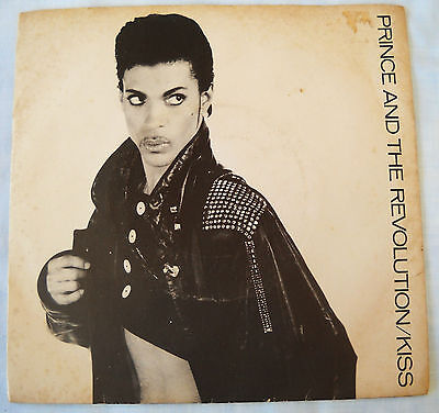 """Prince-Kiss / Love Or Money-Mega Rare South Africa Ps 45-7"""" Single-Exc Unplayed"""