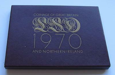 Royal Mint Proof Coin Set 1970 - Great 46 Year Old Set in good condition