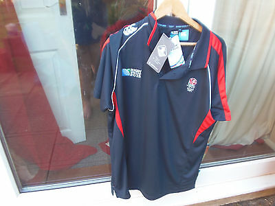 BNWT Mens 3XL England Rugby Shirt:(Rugby World Cup 2015)