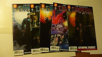 Dresden Files Welcome to the Jungle 1 (2nd prt) 2 3 4 Complete Storm Front 2 E18