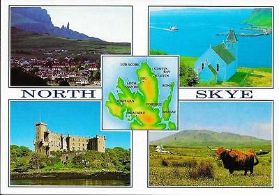 North Skye, Views - Unposted Postcard
