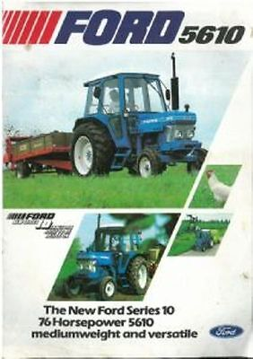 Ford Tractor 5610 Brochure - #2
