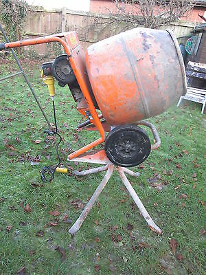 Belle MiniMix 150 cement mixer  Electric 110Volt with Stand