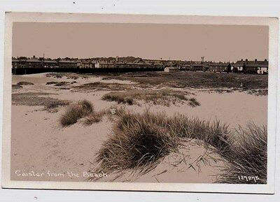 Norfolk,  CAISTER,  from the Beach,  Nr. Yarmouth, RP