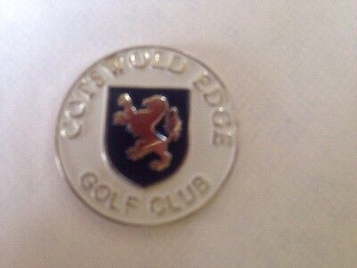 Cotswold Edge Golf Club Ball Marker