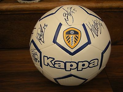 Leeds United Football 2016 /17 Squad Signed By 17