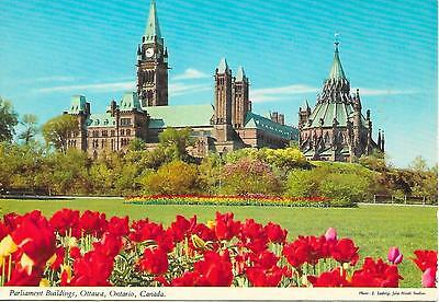 Ottawa- Parliament Buildings- Posted Postcard