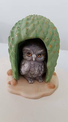 Quirky Vintage Owl Ornament Sweet!