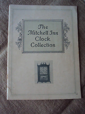 The Mitchell Inn Clock Collection Catalog Scarce 41 pages 1947 SB