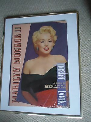 Marilyn Monroe Poster Book 1996 Original Vintage 20 Years Rare Valuable Gem New
