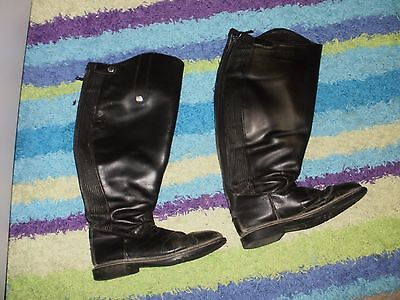 Fuller Fillies XW/STANDARD HEIGHT Riding Dress Boots UK 6 US 8 WELL USED 2 PAIRS