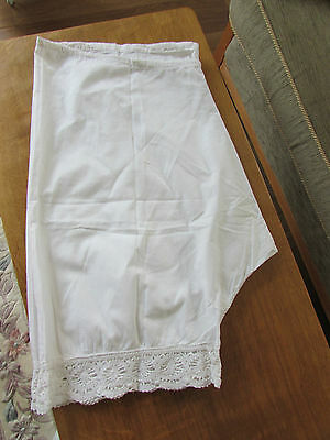 Lace Hand Crafted Victorian Bloomers Knickers Knickerbocker LOVELY CONDITION
