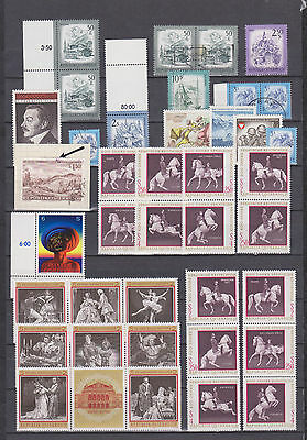 nice  collection  Austria ,,,,,,,,,used / MNH,,,,,,,